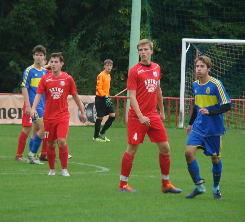Těžce vybojované tři body přivezl dorost z Luhačovic